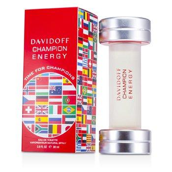 Davidoff Champion Energy Eau De Toilette Spray (Edición Internacional)  90ml/3oz