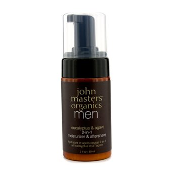 John Masters Organics Men Eucalyptus & Agave 2-In-1 Moisturizer & Aftershave  89ml/3oz