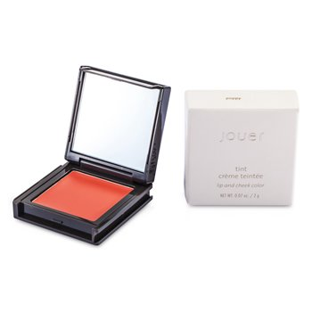 Jouer Tint Lip And Cheek Color (Cream) - # Poppy  2g/0.07oz