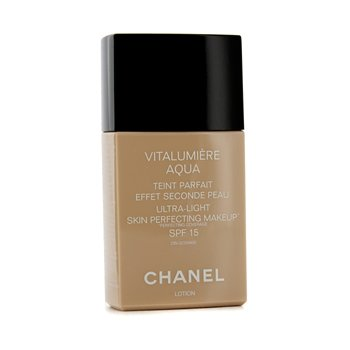 Chanel Vitalumiere Aqua Ultra Light Skin Perfecting Make Up SPF15 - # 64 Beige Ambre  30ml/1oz