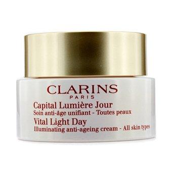 Clarins Vital Light Day Illuminating Anti-Aging Cream (Unboxed)  50ml/1.7oz