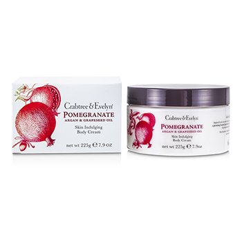 Crabtree & Evelyn Pomegranate, Argan & Grapeseed Crema Corporal  225g/7.9oz