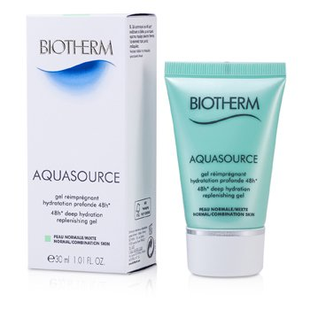 Biotherm Gel Hidratante Aquasource 48H Deep Replenishing (Pele Normal á Mista)  30ml/1oz