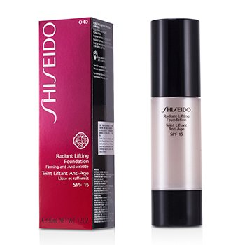 Shiseido Radiant Lifting Foundation SPF 15 - # O40 Natural Fair Ochre  30ml/1.2oz