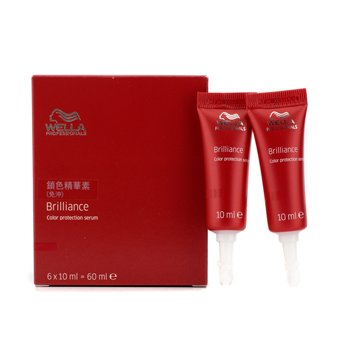 Wella Serum ochronne do włosów farbowanych Brilliance Color Protection Serum  6x10ml