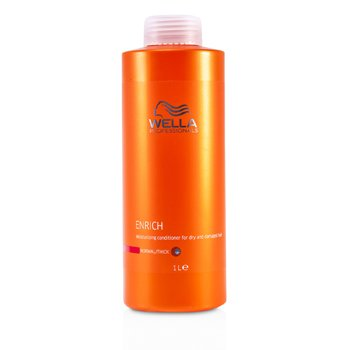 Wella Condicionador Enrich Moisturizing p/ cabelo seco & danificado(normal / grosso)  1000ml/33.8oz