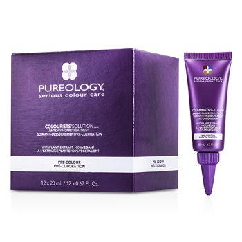 Pureology Colourists' Solution Kurutmayan Ön Bakım  12x20ml/0.67oz