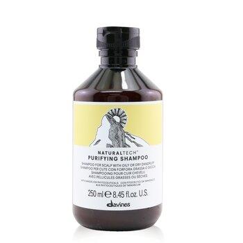 Davines แชมพูทำความสะอาด Natural Tech (สำหรับหนังศีรษะมันหรือแห้งมีรังแค)  250ml/8.45oz