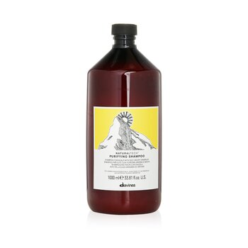 Davines Natural Tech Purifying Shampoo (For Scalp with Oily or Dry Dandruff)  1000ml/33.8oz