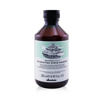 Davines Natural Tech Detoxifying Scrub Shampoo (For Atonic Scalp)  250ml/8.45oz