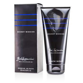 Baldessarini Secret Mission Shower Gel  200ml/6.8oz