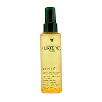 Rene Furterer Olejek odżywczy Karite Intense Nourishing Oil (do wlosów suchych, zniszczonych i skory głowy, )  100ml/3.38oz