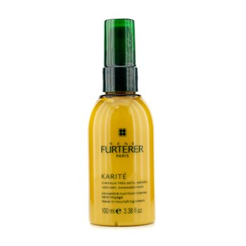 Rene Furterer Karite Leave-in Nourishing Cream (For Very Dry, Damaged Hair)  100ml/3.38oz