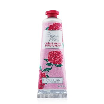 L'Occitane Peony (Pivoine) Flora Hand Cream  30ml/1oz