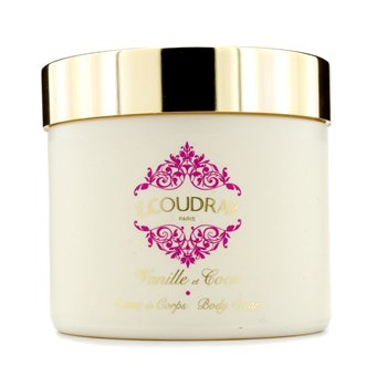 E Coudray Vanille & Coco Perfumed Body Cream (Kemasan Baru)  250ml/8.4oz