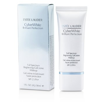 Estee Lauder Cyber White Brilliant Perfection Full Spectrum Brightening Gel Creme Makeup SPF 21 - # 05 Cool Creme  30ml/1oz