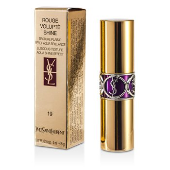 Yves Saint Laurent Rouge Volupte Shine - # 19 Fuchsia In Rage  4.5g/0.15oz