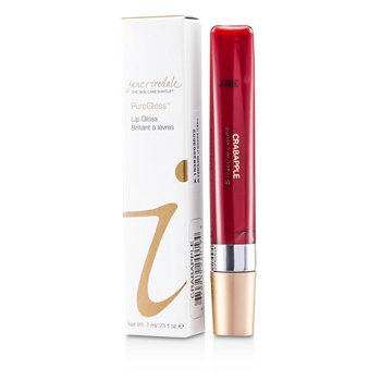 Jane Iredale PureGloss Lip Gloss (New Packaging) - Crabapple  7ml/0.23oz