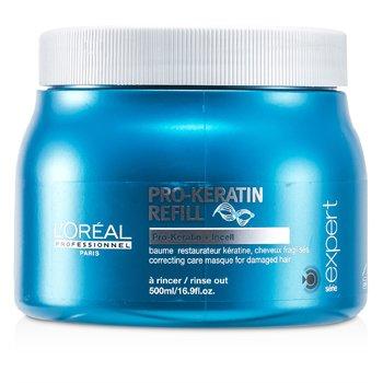 L'Oreal Máscara capilar Professionnel Expert Serie - Pro-Keratin Refill Correcting Care Masque (Cabelo danificado)  500ml/16.9oz