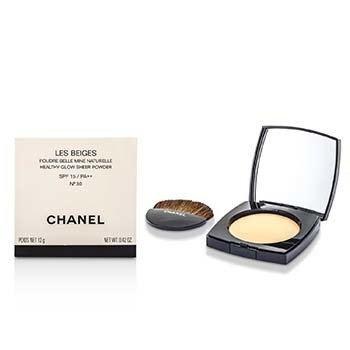 Chanel Lekki puder do twarzy Les Beiges Healthy Glow Sheer Powder SPF 15 - No. 30  12g/0.4oz