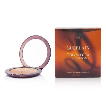 Guerlain Terracotta 4 Seasons Tailor Made Bronzing Powder - # 04 Moyen - Blondes  10g/0.35oz