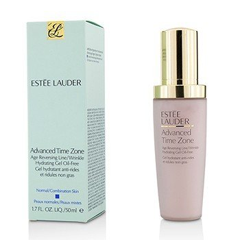Estée Lauder Loção Advanced Time Zone Age Reversing Line/ Wrinkle Hydrating Gel Oil-Free (Normal/Mista  50ml/1.7oz