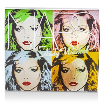 NARS Zestaw do makijażu Andy Warhol Collection Debbie Harry Eye And Cheek Palette (4x cienie, 2x róże)  6pcs