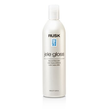 Rusk Jele Gloss Body & Shine Lotion  400ml/13.5oz