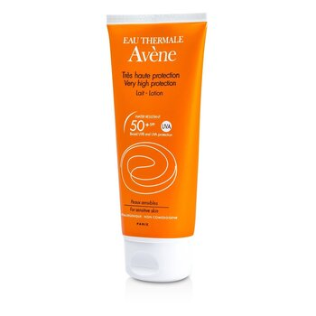 Avene لوشن بدرجة حماية عالية للغاية SPF50+ (للبشرة الحساسة)  100ml/3.4oz