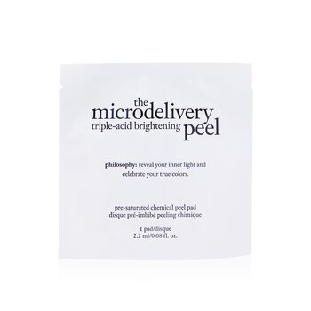 Philosophy Microdelivery Triple-Acid Parches Exfoliantes Iluminadores  12pads