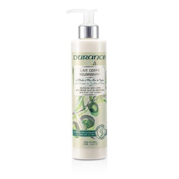 Durance Nourishing Body Lotion with Olive Leaf Extract - Losion Tubuh  250ml/8.4oz