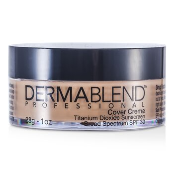 Dermablend Base Cover Creme Broad Spectrum SPF 30 (Cobertura itensa) - Natural Beige  28g/1oz