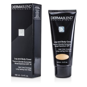 Dermablend Base Corretiva perna & corpo Leg & Body Cover - Suntan  100ml/3.4oz