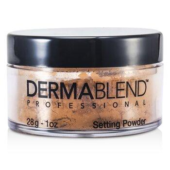 Dermablend Loose Setting Powder (Smudge Resistant, Long Wearability) - Warm Saffron  28g/1oz