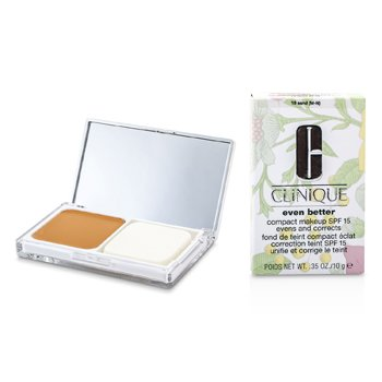 Clinique Even Better Maquillaje Compacto SPF 15 - # 18 Sand (M-N)  10g/0.35oz