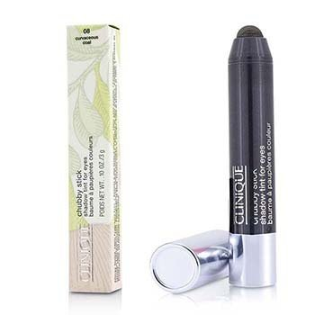 Clinique Chubby Stick Shadow Tint for Eyes -luomivärisävy - # 08 Curvaceous Coal  3g/0.1oz