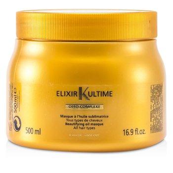 Kerastase Elixir Ultime Oleo-Complexe Güzelleştirici Yağ Maske (Tüm Saç Tipleri için)  500ml/16.9oz