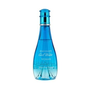 Davidoff Cool Water Into the Ocean Eau De Toilette Spray  100ml/3.4oz