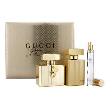 Gucci Premiere Casetă: Apă De Parfum Spray 75ml/2.5oz + Loțiune de Corp 100ml/3.3oz + Apă De Parfum Spray 7.4ml/0.25oz