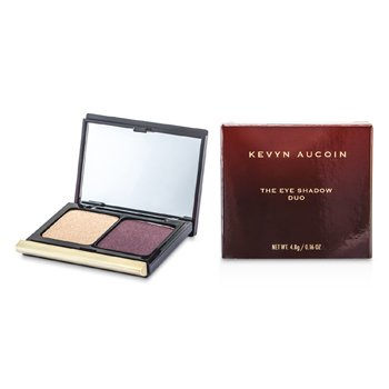 Kevyn Aucoin The Eye Shadow Duo - # 205 Rose Gold/ Iced Plum  4.8g/0.16oz