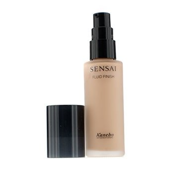 Kanebo Sensai Fluid Finish Foundation SPF 15 - # FF 103 Warm Beige  30ml/1.02oz