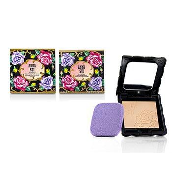 Anna Sui Polvos Base Maquillaje SPF 20 (Estuche y Recambiol) - # 100  12g/0.42oz