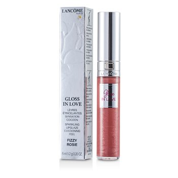 Lancome Gloss In Love Lip Gloss - # 222 Fizzy Rosie  6ml/0.2oz