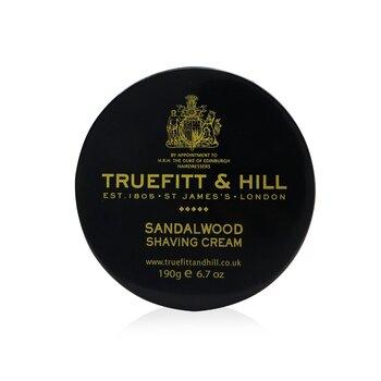 Truefitt & Hill Sandalwood Crema de Afeitar  190g/6.7oz