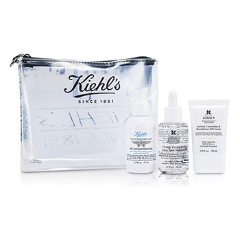 Kiehl's Set Crema BB: Crema BB + Clearly Corrective Soluci�n Puntos Negros + 24/7 Humectante Activado  3pcs+1bag