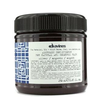 Davines Alchemic Silver  بلسم (للشعر الطبيعي والرمادي)  250ml/8.45oz