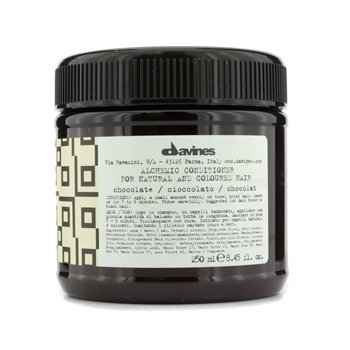 Davines Alchemic Conditioner Chocolate (For Natural & Dark Brown to Black Hair)  250ml/8.45oz