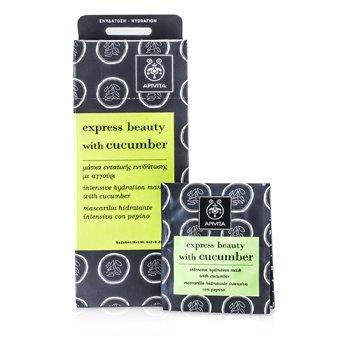 Apivita Express Beauty Máscara Hidratante Intensiva con Pepino  6x(2x8ml)