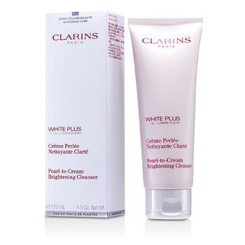 Clarins White Plus Total Luminescent Pearl-To-Cream Brightening Cleanser  125ml/4.5oz