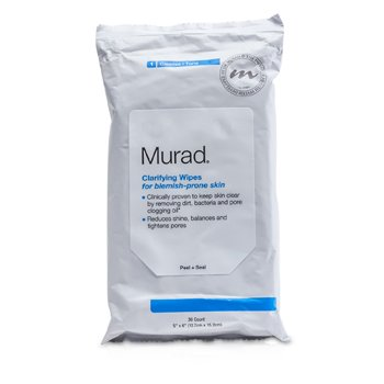 Murad Clarifying Wipes For Blemish-Prone Skin  30wipes